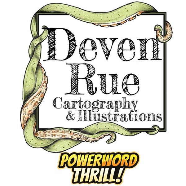 "Community Spotlight 002: Deven ""Mistress of Maps"" Rue – Fantasy Cartographer"