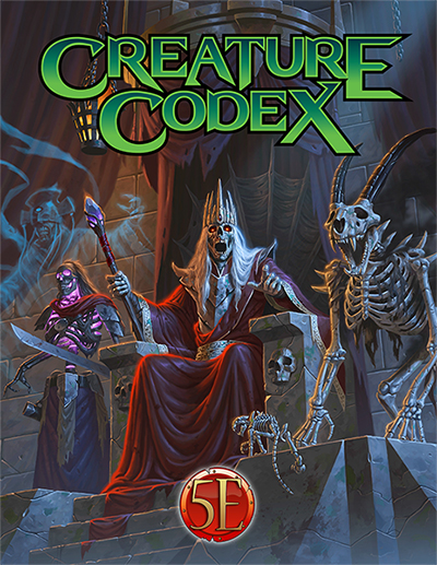 Tabletop Traveler- Review: Creature Codex by Kobold Press