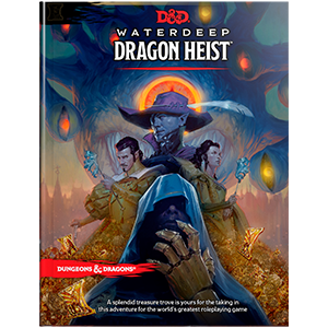 Tabletop Traveler – Review: Waterdeep- Dragon Heist from Wizards of the Coast
